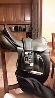 """17.5"""" County Competitor Dressage Saddle"""