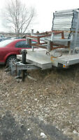 Heavy duty galvanized trailer