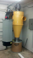 Top of the line shop vacuum dust collector