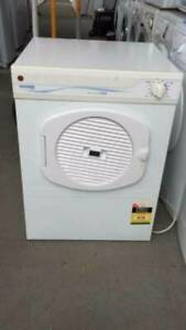 5 kg hoover dryer   clean AND GOOD WORKING.   Dimentions is 58cm w x58