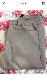 Asos grey skinny jeans.