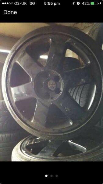 Audi tt wheels 5x100