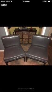 Excellent Pair of Accent Chairs
