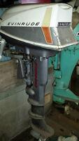 10 HP Evinrude Longshaft Outboard Motor
