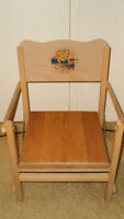 Vintage child's chair,  Kid's stool