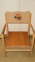 Vintage child's chair,  Kid's stool