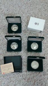 '88 Winter Olympic - Royal Mint - $20 Silver Coins