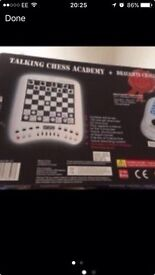 Talking chess academy