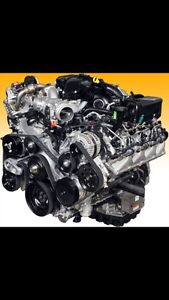 Moteur engine 6,7 litre powerstroke Ford