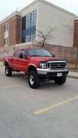 Lifted Ford F-250 Powerstroke 7.3