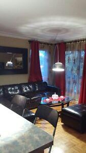Appartement 4 1/2 meublé à louer