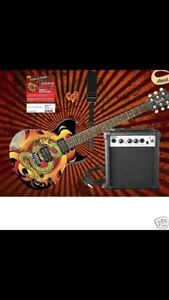 Complete Washburn Electric Guitar Package