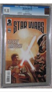 8 book set.  Based on the Rough Draft of Star Wars! all 9.8 CGC Cornwall Ontario image 3
