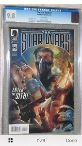 8 book set.  Based on the Rough Draft of Star Wars! all 9.8 CGC Cornwall Ontario image 7