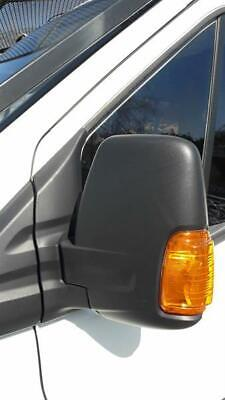 Morza Front Left Side Wing Rearview Mirror Glass Replacement For Ford Transit 2000-2013 4059969 YC15-17K741-BA
