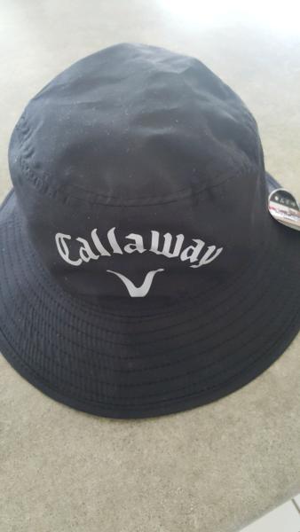 43828d627bc New Callaway Aqua Dry Bucket Hat- Black