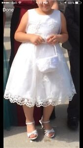 Beautiful communion or flower girl dress size 10-12