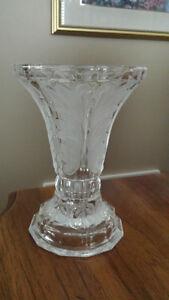 Crystal Vase/Candle Holder