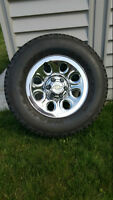 Chevy 1/2 Ton Truck Rims & Tires
