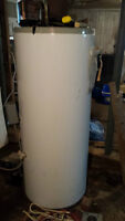 OIL FIRED HOT WATER HEATER & FURNACE & EXPANSION TANK