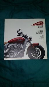 Indian motorcycle catalog book pamphlet 2015 2016 booklet shop