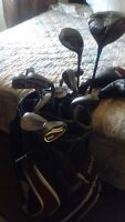 Nice right-hand G-25 driver and irons with I25 5wood