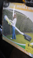 Hedge trimmer vacuum and grinder all in one, in box, new