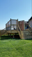 PROFESSIONAL DECKS & FENCES-BOOK NOW-COMPLETED PROMPTLY!!