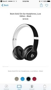 Beats solo2 luxe edition Peterborough Peterborough Area image 1