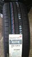 KUMHO TIRES SALE P195/65R15 & P205/55R16 **FREE INSTALLATION**
