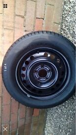 VAUXHALL RIM AND TYRE BARGAIN CHEAP MUST GO 205 55 16 5 STUD