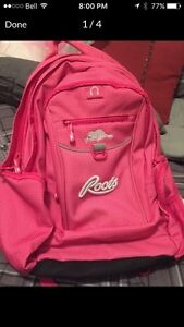 NWOT:  Pink ROOTS Backpack