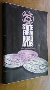 State Farm Road Atlas, US/Mexico/Canada 75th Anniversary