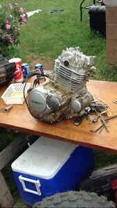 Selling 300cc motor , with new wire harness and mounts $$