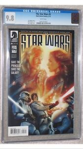 8 book set.  Based on the Rough Draft of Star Wars! all 9.8 CGC Cornwall Ontario image 5