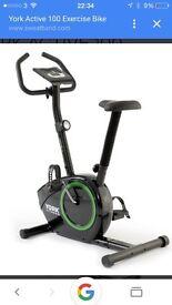 York excercise bike