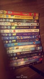 17 kids DVD's