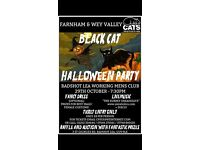 Cats Protection Halloween Party 29th Oct