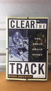 Signed Clear the Track book