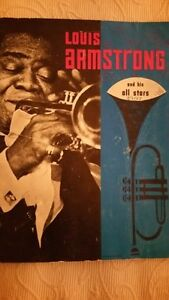 Louis Armstrong autographed