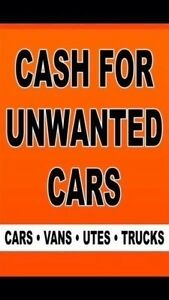 CASH FOR ALL UNWANTED CARS Mount Pritchard Fairfield Area Preview