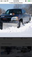 Snow plowing service wahnapitae/Coniston & rooftop snowremovals