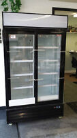 Glass Door Coolers and Freezers