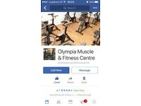 Olympia muscle and fitness centre