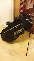 Callaway Driver, Nike Blade Irons 3-PW, Odysey Putter, Ogio bag