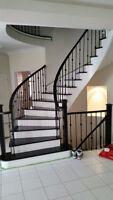 HARDWOOD FLOOR AND STAIRS REFINISHING (SANDING & STAINING)