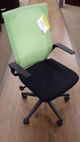 Green and Black Office Task Chair