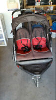 2 seater stroller with bluetooth