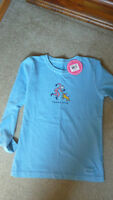 Life is Good long-sleeved tee Girls size 7-8 NWT