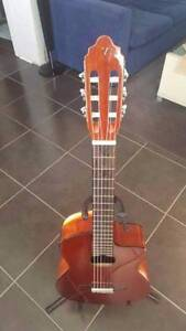 Valencia Cutaway Electro Acoustic Classical Guitar Sandy Bay Hobart City Preview